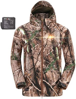 Dewbu Heated Soft Shell Jacket