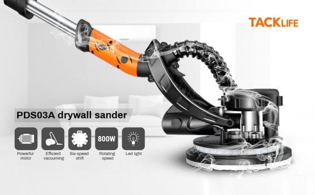 TACKLIFE Drywall Sander 6.7A