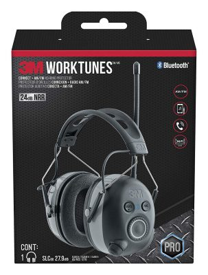 3M WorkTunes Connect + AM/FM Hearing Protector