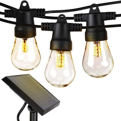 Brightech Ambience Pro Solar Outdoor String Lights
