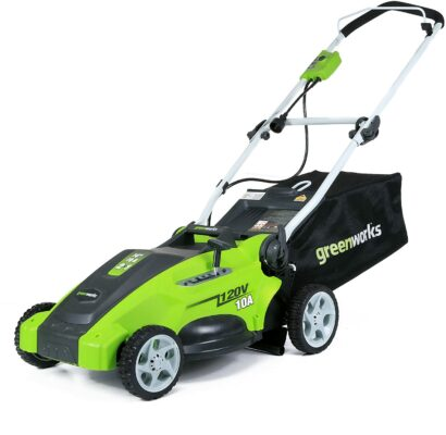 Greenworks 16-Inch Corded Electric Lawn Mower