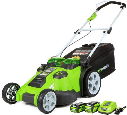 Greenworks 40V Cordless Twin Force Lawn Mower