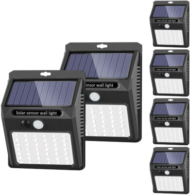 SEZAC Solar Security Lights