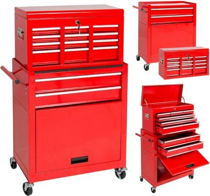Best Choice Products Rolling Tool Chest