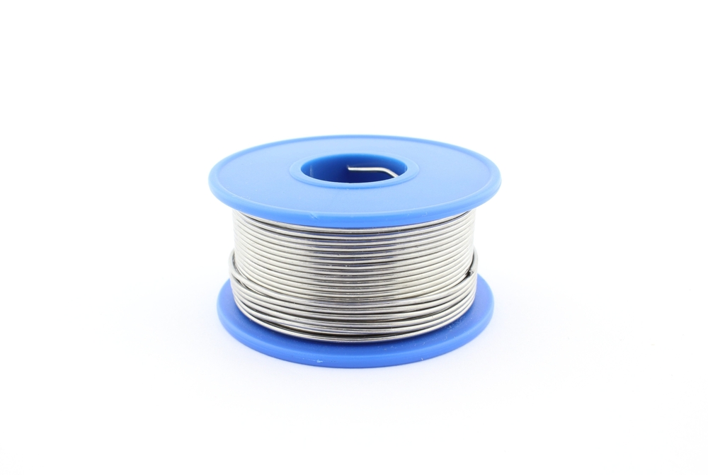 Spool of soldering wire