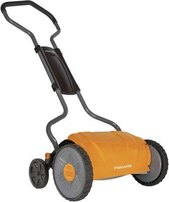 Fiskars 17-Inch StaySharp Push Reel Lawn Mower