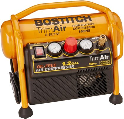 Bostitch Air Compressor for Trim