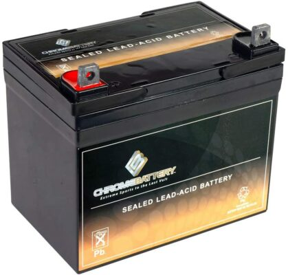 CB CHROMEBATTERY Deep Cycle SLA Replacement Battery 12V 35AH AGM