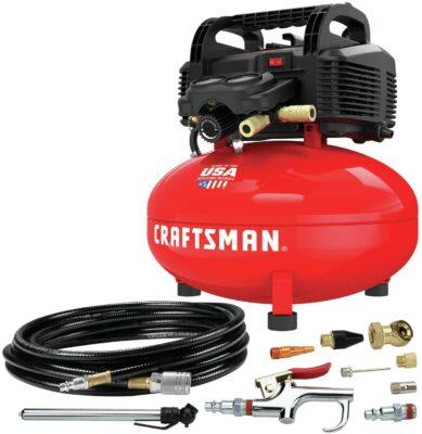 Craftsman Pancake Air Compressor + Accessory Kit