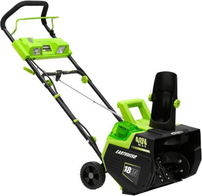 Earthwise SN74018 Cordless Electric Snow Thrower