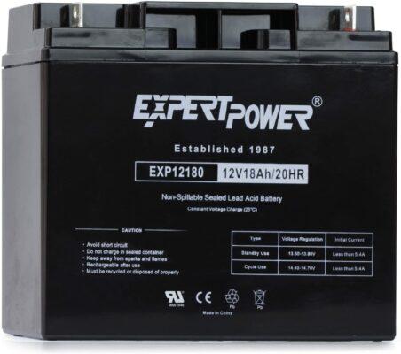 ExpertPower EXP12180 Lead Acid Battery