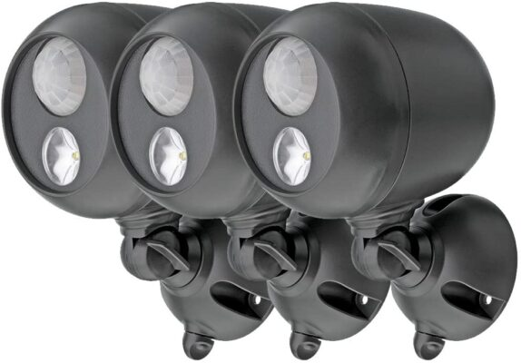 Mr. Beams MB363 Wireless LED Spotlight (Pack of 3)