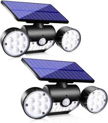 Upgrade Solar Motion Sensor Lights (Pack of 2)