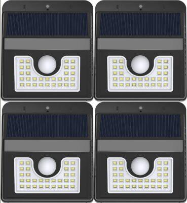 Vivii Motion Sensor 30 LED Super Bright Security Lights (Pack of 4)