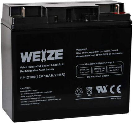 Weize FP12180-12V 18AH Battery