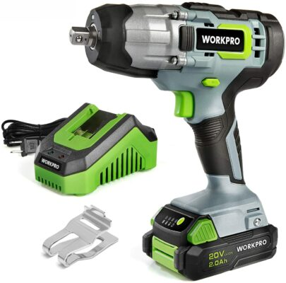 Workpro 20V Cordless Impact Wrench