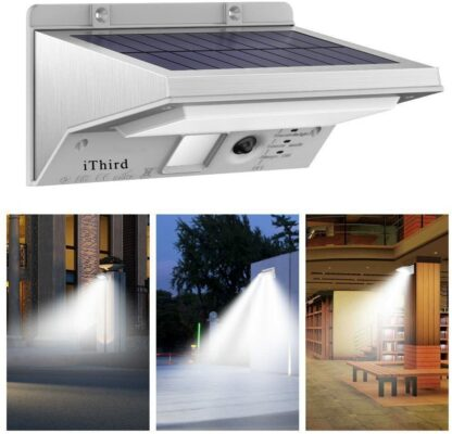 iThird LED Solar Security Lights (Pack of 1)
