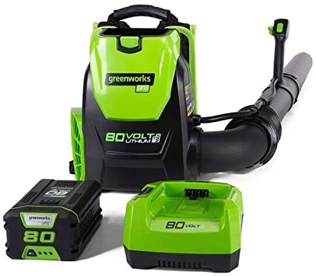Greenworks 580CFM Cordless Backpack Leaf Blower