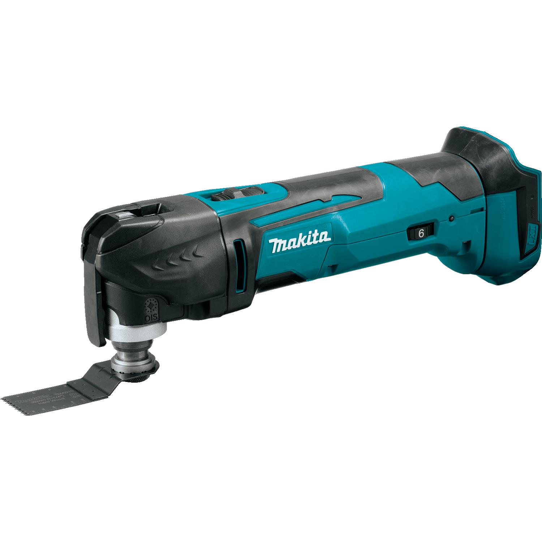 Makita multi-tool with wood blade