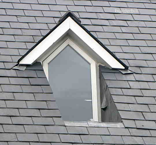 Recessed dormer window