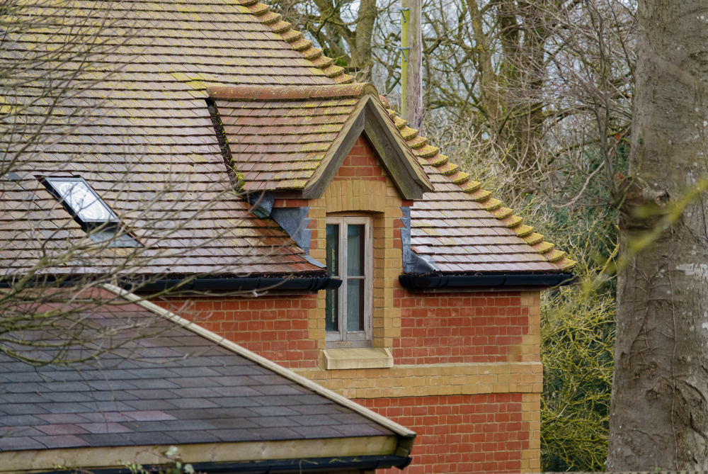 Wall dormer window