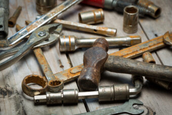 Make Them Shine: How to Remove Rust From Tools