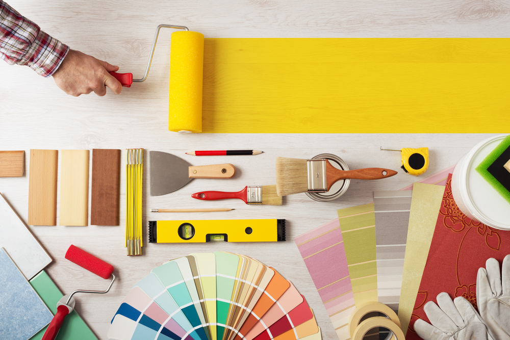 full painting tool kit