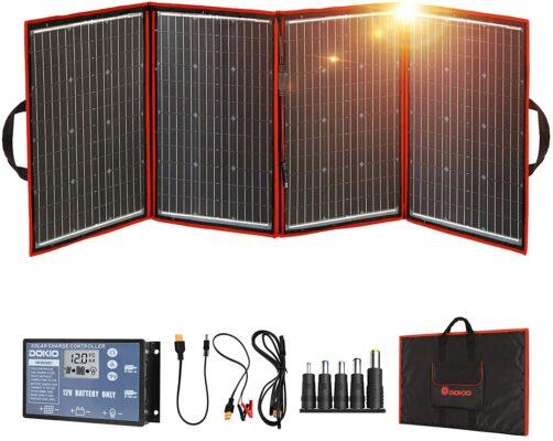 DOKIO 220 Watts Foldable Solar Panel