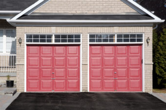 How to Paint a Garage Door With Professional Results