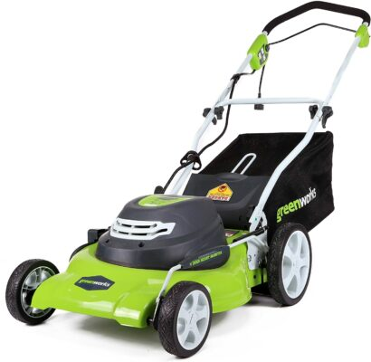 Greenworks 3-In-1 Electric Corded Lawnmower