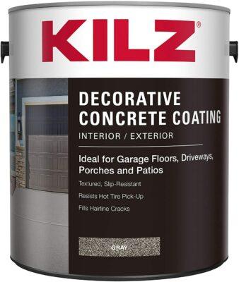 KILZ Interior/Exterior Decorative Concrete Coating