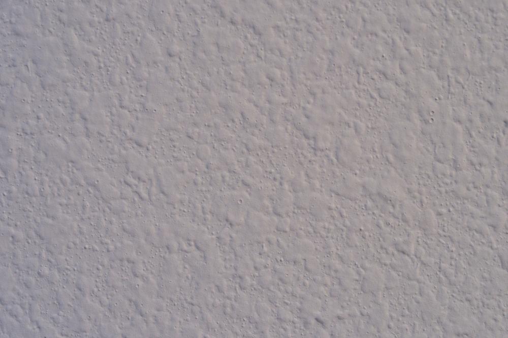 Orange peel texture on a wall