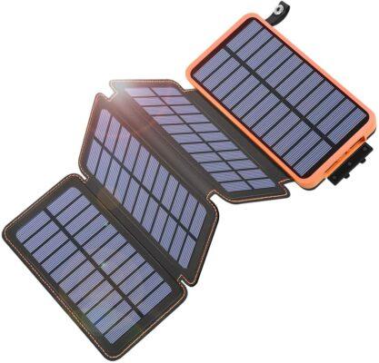 Tranmix Portable Solar Phone Charger