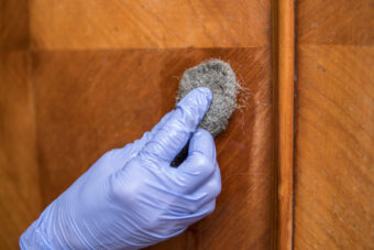 How to Remove Wood Stain