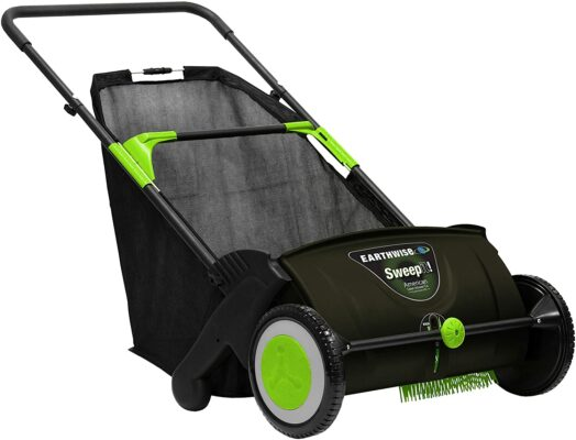 Earthwise LSW70021 21-Inch Lawn Sweeper