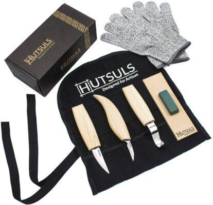 HUTSULS Wood Whittling Kit
