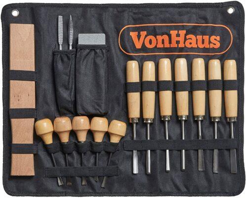 VonHaus Wood Carving Tool Set
