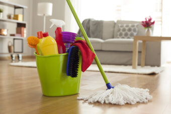How to Mop a Floor so That It's Actually Clean