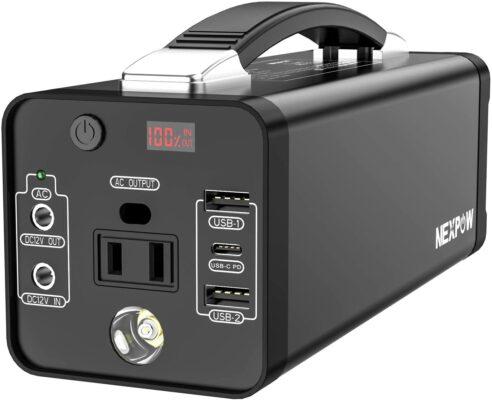NEXPOW Portable Power Station (178Wh)