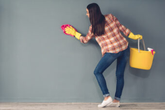 How to Clean Painted Walls Without Damaging Them