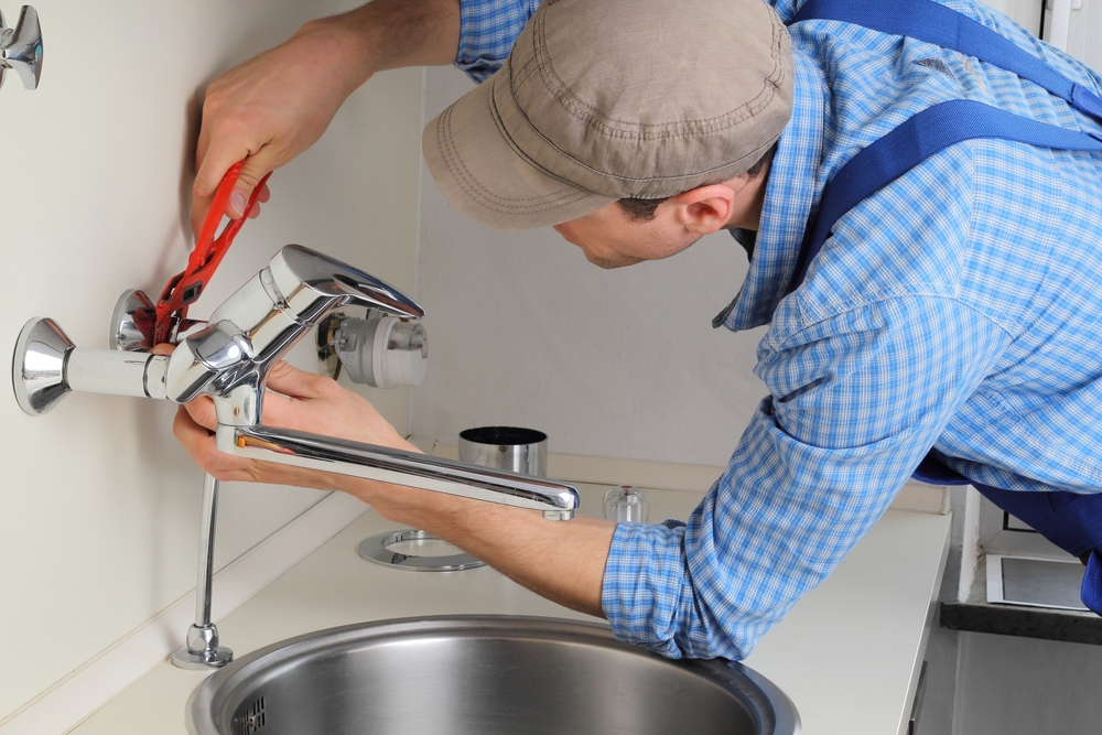 installing a wall-mounted faucet